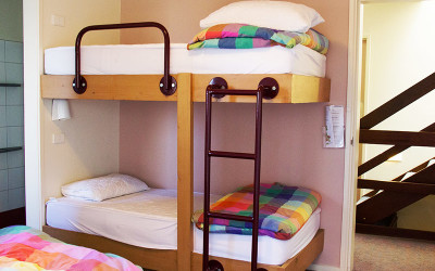 Comfortable bedrooms for all sized groups